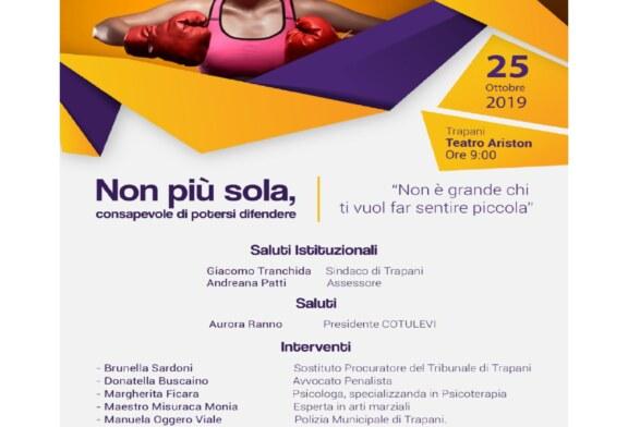 Associazione per i Diritti Umani «Co. Tu. Le Vi.» – Giornata di sensibilizzazione sul tema dell'autodifesa femminile – 25 ottobre 2019