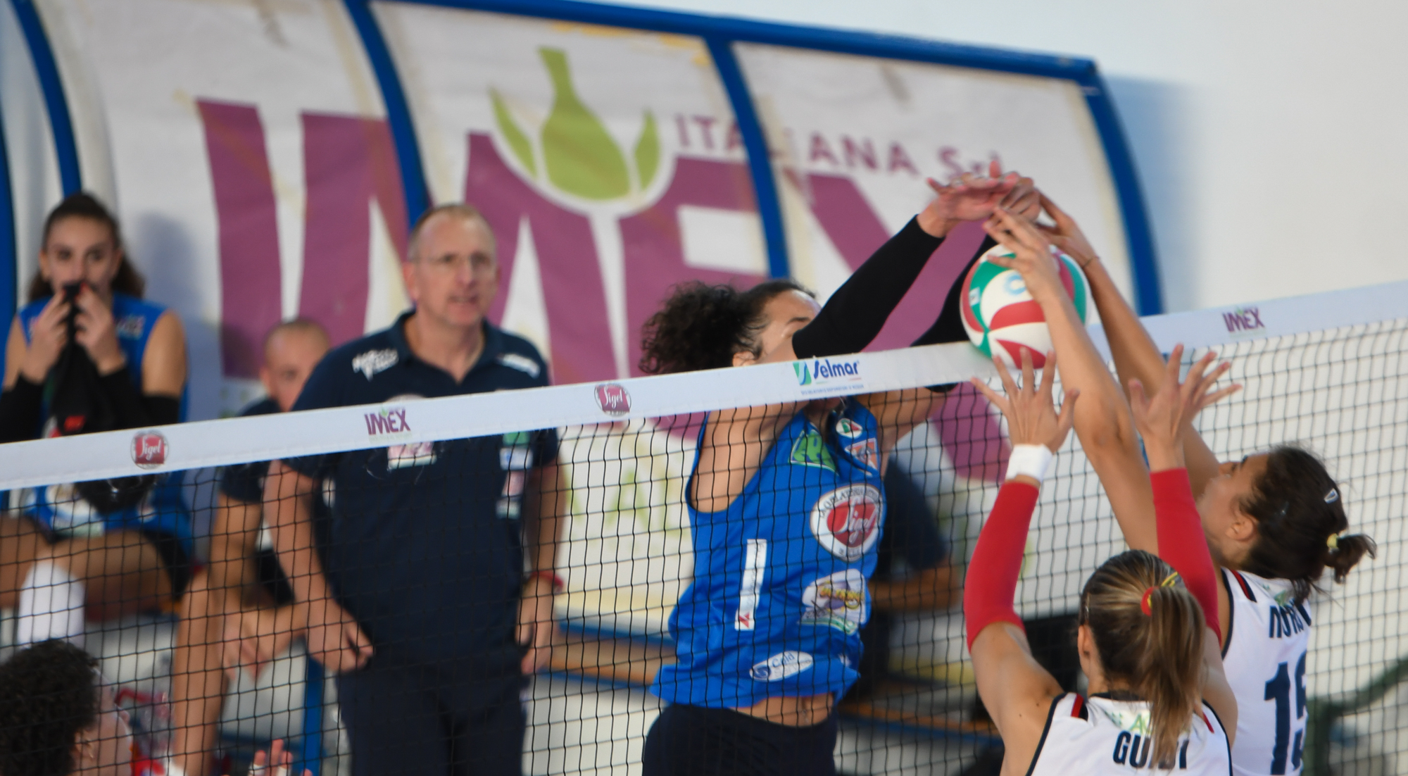 27/10/2019 4^GIORNATA A2 FEMMINILE. Roma Volley Club-Sigel Marsala Volley 3-0
