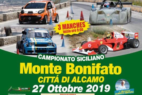 3° Slalom automobilistico Monte Bonifato – Città di Alcamo Domenica 27 ottobre