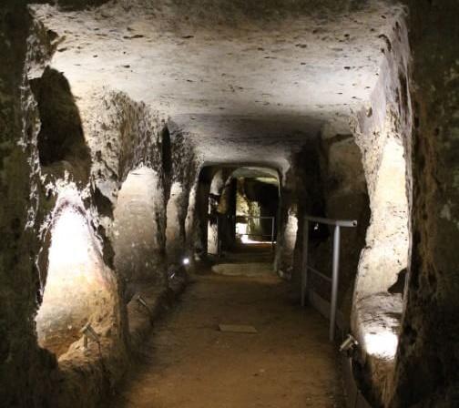 C.S. Visita guidata alla Catacomba di Villagrazia di Carini nell'ambito del Corso di Archeologia organizzato da BCsicilia. Posta in arrivo x