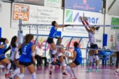 6^GIORNATA A2 FEMMINILE. P2p Smilers-Sigel Marsala Volley 3-2