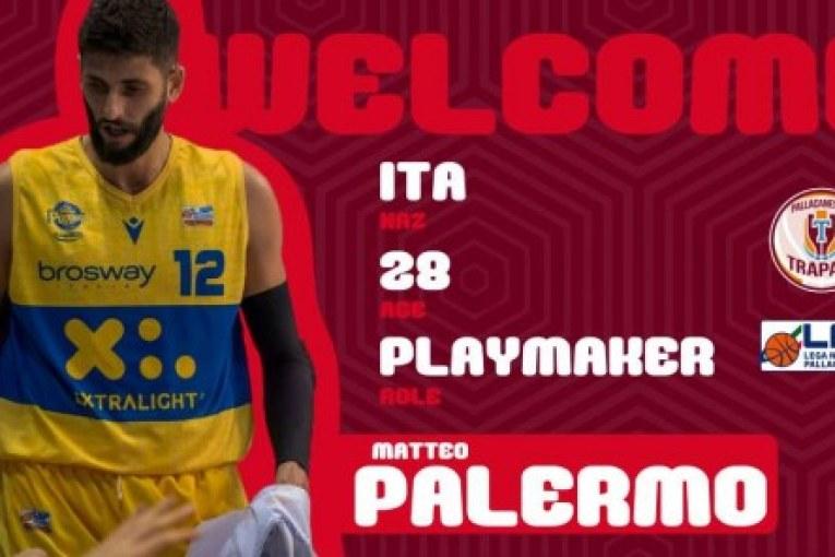Matteo Palermo è un giocatore della Pallacanestro Trapani