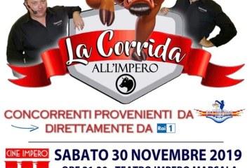 """Marsala, sabato 30 novembre torna """"La Corrida all'Impero"""": concorrenti provenienti da tutta Italia"""