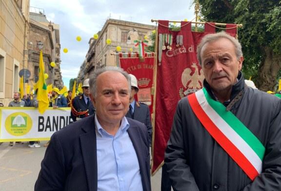 La città di Trapani presente a Pa per la manifestazione indetta da Coldiretti
