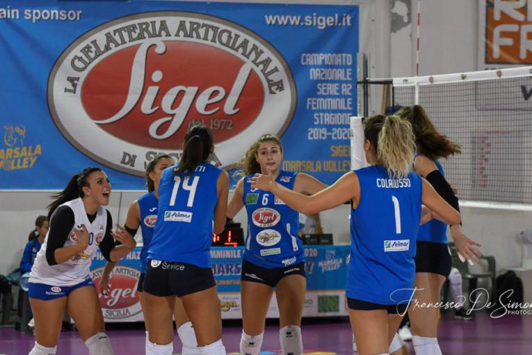 ^GIORNATA A2 FEMMINILE. S.lle Ramonda IPAG Montecchio-Sigel Marsala Volley 3-0