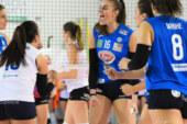 3^GIORNATA POOL SALVEZZA A2 FEMMINILE.  Sigel Marsala Volley-Club Italia Crai 3-0