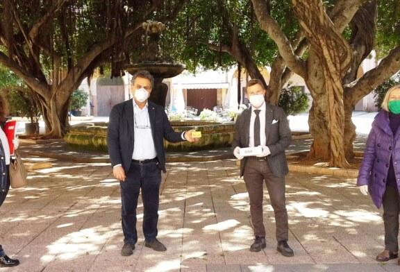 """AIUTI A FAMIGLIE DISAGIATE. GRUPPO CDS-""""IL CENTESIMO"""" DONA AL COMUNE DI MARSALA 10 MILA EURO IN BUONI SPESA"""