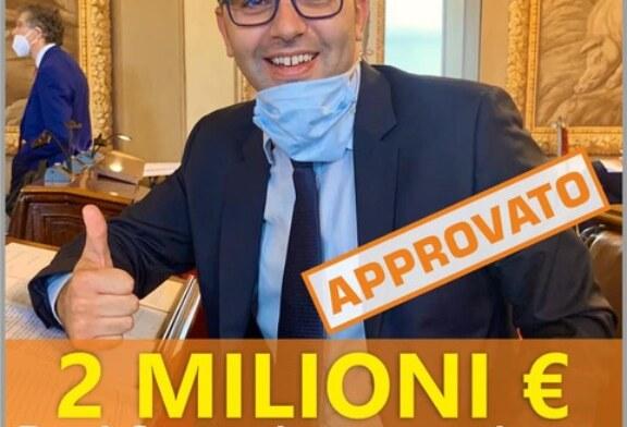 2 MILIONI DI EURO PER I COMUNI TRA CUI TAORMINA GIARDINI NAXOS E LIPARI