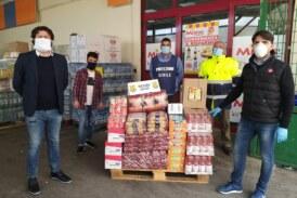 Mazara calcio: I giocatori devolvono beni di prima necessità alimentare alle famiglie bisognose