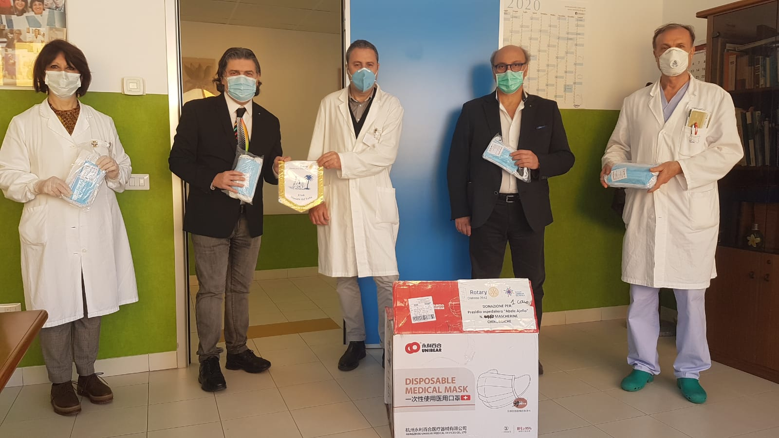 Emergenza Covid-19, Le diverse iniziative promosse dal Rotary Club Mazara