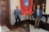 INCONTRO IERI AL PALAZZO MUNICIPALE DI MARSALA FRA IL SINDACO  ALBERTO DI GIROLAMO E IL DIRETTORE GENERALE DELL'ASP, GIOACCHINO ODDO