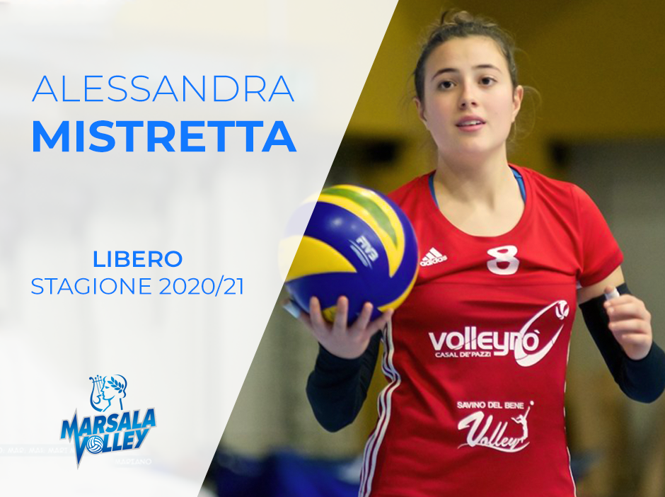 La marsalese Alessandra Mistretta affianca Simona Vaccaro nel reparto dei liberi