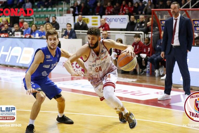 Matteo Palermo rinnova con la Pallacanestro Trapani