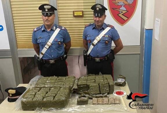 TRAPANI: SEQUESTRATO DAI CARABINIERI CARICO DI DROGA RINVENUTO IN MARE