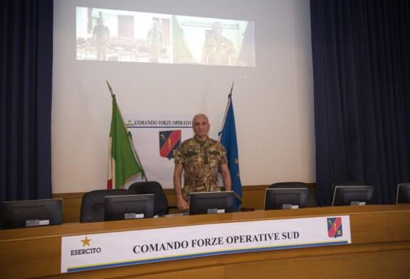 """CAMBIO AL RAGGRUPPAMENTO SICILIA OCCIDENTALE  il 6° Reggimento Bersaglieri riceve il comando dal 4° Reggimento Genio Guastatori e assume la guida dell'Operazione """"Strade Sicure""""."""
