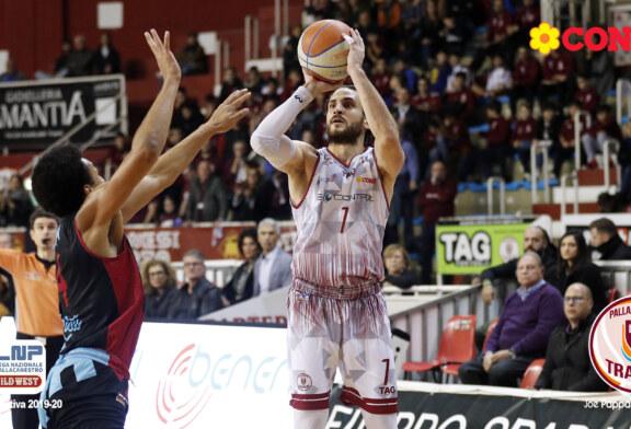 Gabriele Spizzichini è di nuovo un giocatore della Pallacanestro Trapani