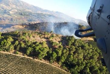 2 ore di volo con 16 sganci e 14000 litri d'acqua su un incendio perL'82° Centro C.S.A.R.dell'Aeronautica Militare