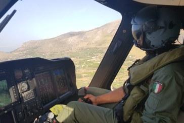 2 ore di volo con 15 sganci e 12000 litri d'acqua su un incendio perL'82° Centro C.S.A.R.dell'Aeronautica Militare