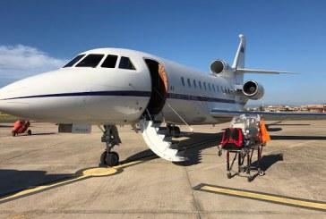 Aeronautica Militare, volo sanitario urgente da Lamezia Terme a Roma per un neonato     Protetto in una culla termica, il piccolo paziente di appena due giorni è stato trasportato a bordo di un velivolo Falcon 900 del 31° Stormo.