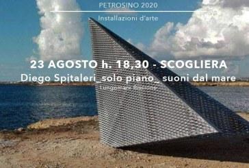 """Sicilitudini"""" a Petrosino, domenica appuntamento sul lungomare Biscione  In calendario """"Diego Spitaleri_solo piano_suoni dal mare"""""""