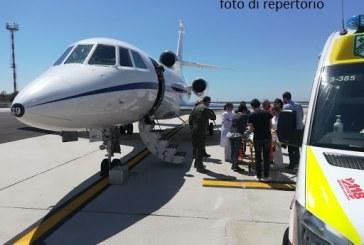 Aeronautica Militare, volo urgente da Lamezia Terme  a Brescia per bambino in pericolo di vita  Il trasporto sanitario è stato effettuato con un Falcon 900 del 31° Stormo di Ciampino