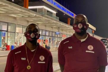 Arrivano i due USA  La Pallacanestro Trapani comunica che alle 21.50 di ieri sono atterrati all'aeroporto Falcone-Borsellino di Palermo i due giocatori di passaporto americano LaMarshal Corbett e Marshawn Powell.