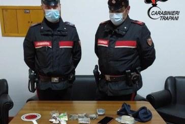 ALCAMO. 23ENNE ARRESTATO DAI CARABINIERI: ERA IN POSSESSO  DI DROGA