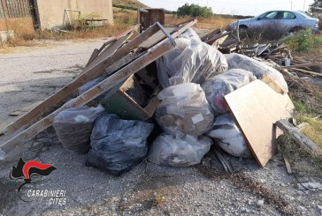 TRAPANI: ABBANDONO DI RIFIUTI DENUNCE E SANZIONI DEI  CARABINIERI FORESTALI